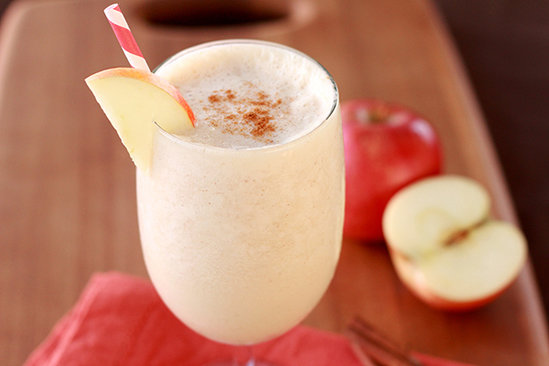 Hungry Girl's Healthy Apple Cinnamon Smoothie Recipe