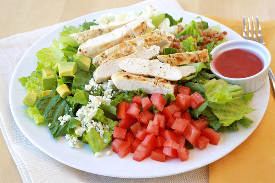 Hungry Girl's Healthy Cobb Salad Recipe