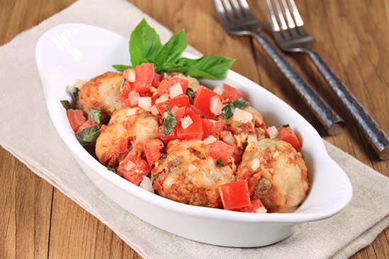 Saucy Parmesan Meatballs