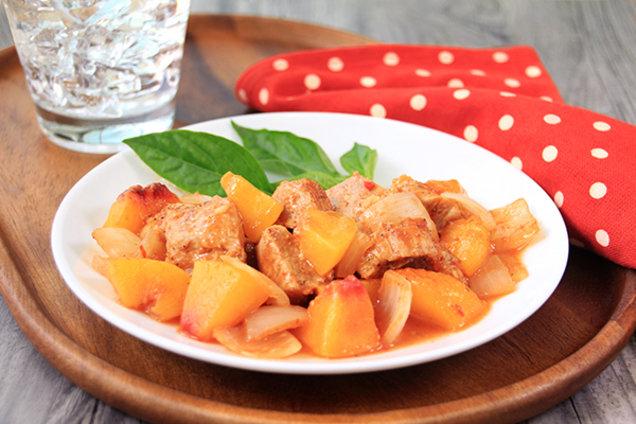 Hungry Girl's Healthy Peachy BBQ Pork Recipe