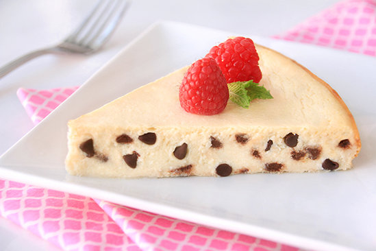 Chocolate Chiptastic Cheesecake