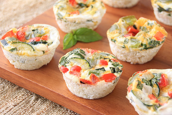 Roasted Veggie Egg Bakes