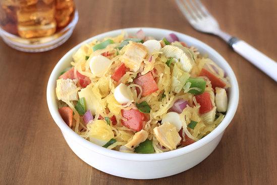 Hungry Girl's Healthy Italian Spaghetti Squash Salad Recipe