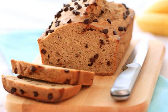 Hungry Girl's Best-Ever Chocolate Chip Banana Bread Recipe
