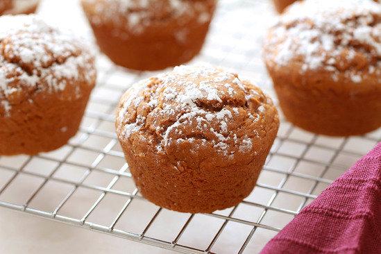 3-Ingredient Spice Cake Muffins