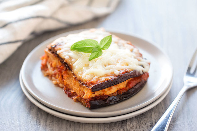 Hungry Girl's Healthy Naked Chicken & Eggplant Parm Recipe