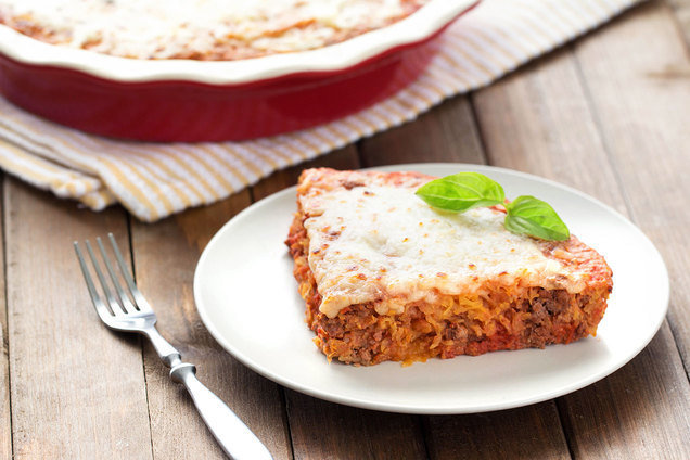 Hungry Girl's Healthy Spaghetti Squash Pie Recipe