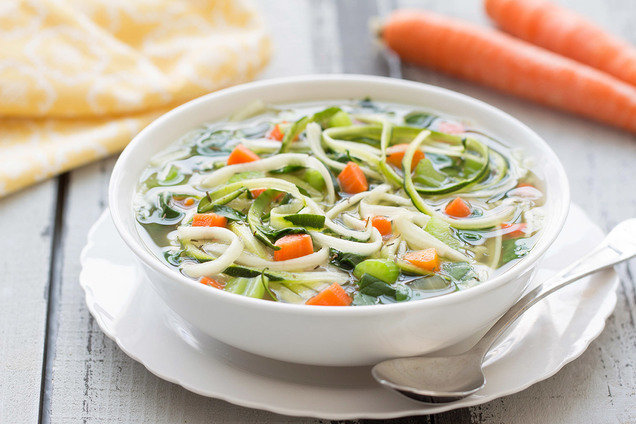 Hungry Girl's Slow-Cooker Veggie Soup Recipe