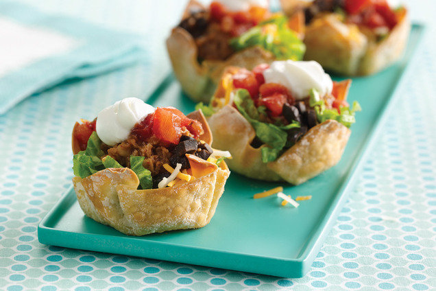 Healthy Tiny Taco Salads 2.0 Recipe