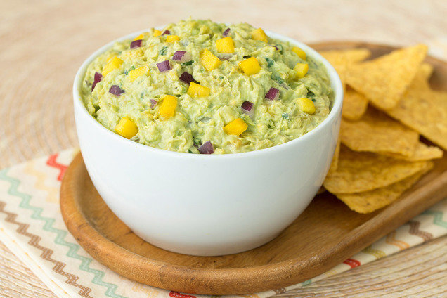 Hungry Girl's Healthy Tropical Guacamole Recipe
