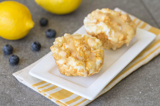 Hungry Girl's Low-Calorie Lemon Blueberry Fluffovers