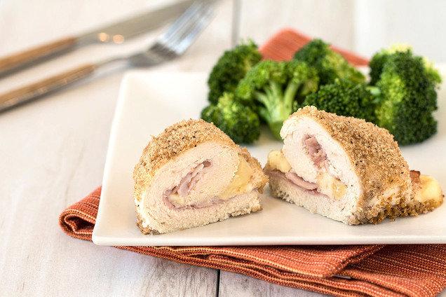 Healthy Baked Chicken Cordon Bleu Recipe Hungry Girl