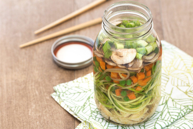 Hungry Girl's Healthy Cup o' Zucchini Noodles Recipe