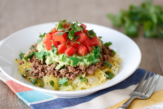 Hungry Girl's Healthy Mexican Spaghetti Squash Bowl