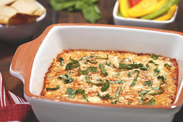 Hungry Girl's Healthy Gooey Lasagna Dip Recipe