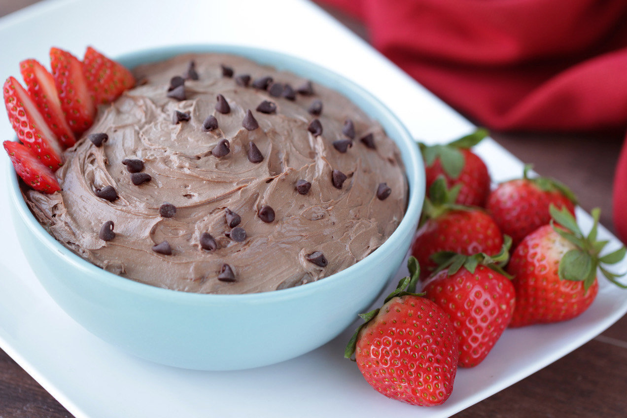 Double Chocolate Cheesecake Dip