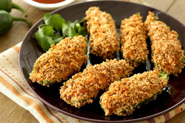 Hungry Girl's Healthy BBQ Chick Jalapeño Poppers Recipe