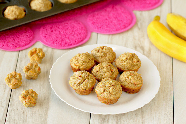 Hungry Girl's Healthy PB-Nana Mini Ruffin' Muffin Recipe