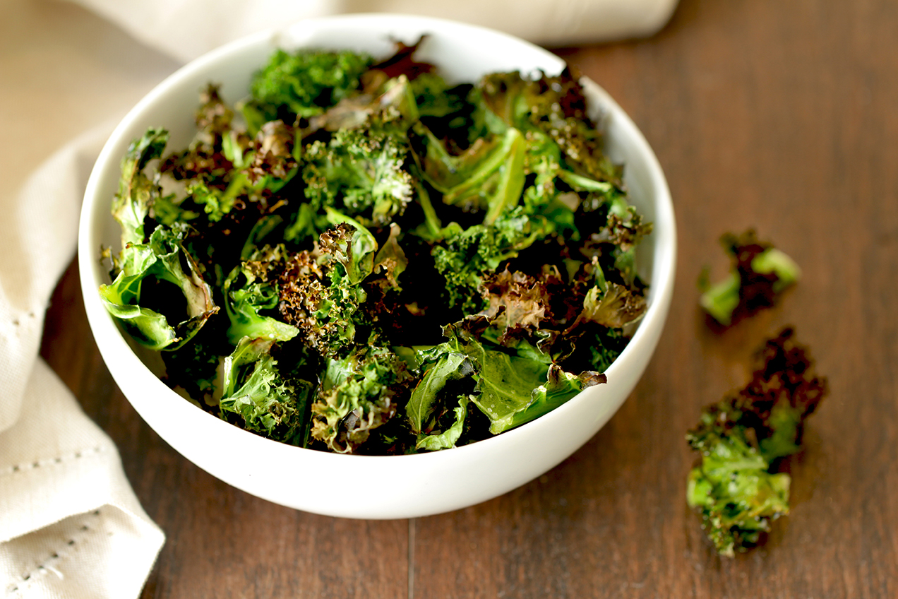Baked Kale Chips Hungry Girl
