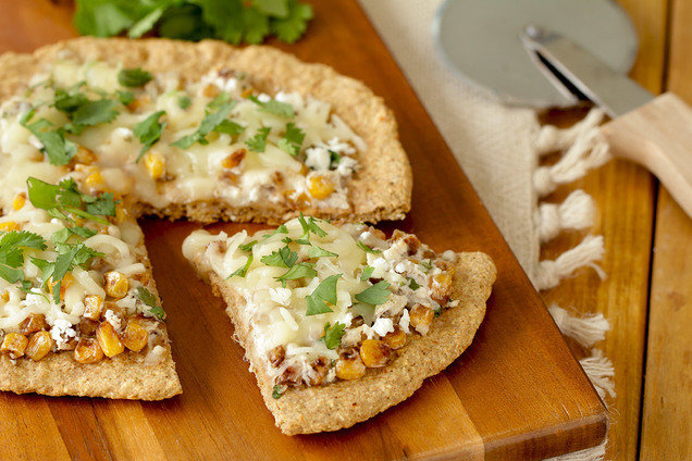 Hungry Girl's Healthy Mexi-Corn Pizza Recipe
