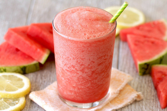 Hungry Girl's Healthy Spiked & Slushed Watermelonade Recipe
