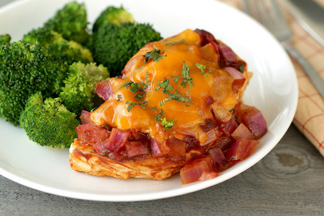 Hungry Girl's Healthy BBQ Chicken Bake Recipe