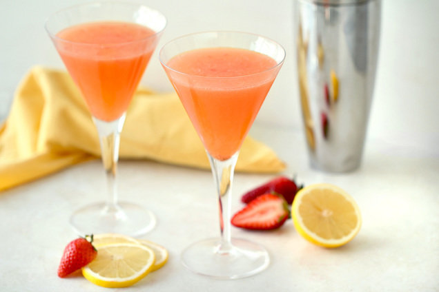Hungry Girl's Healthy Berry-licious Lemon Drop Recipe