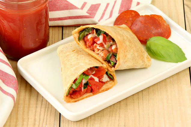 Pepperoni Pizza Wrap