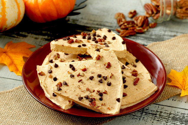 Hungry Girl's Freezy Does It Pumpkin Pie Bark Recipe