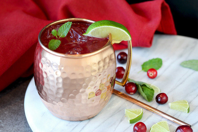 Hungry Girl's Cran-Good Moscow Mule Recipe