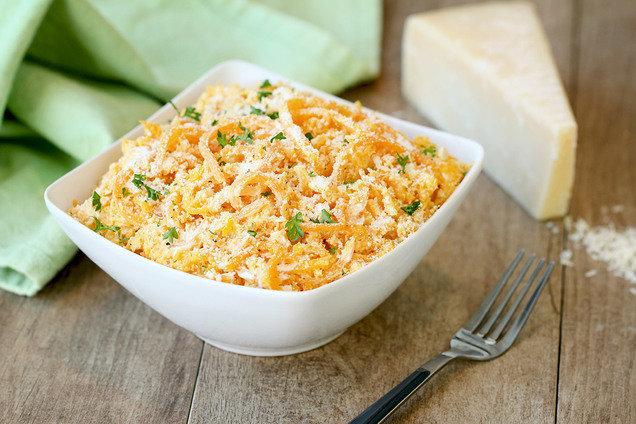Hungry Girl's Healthy Veggie Spirals Alfredo Recipe