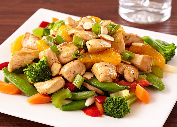 Hungry Girl's Healthy Chinese Chicken Stir-Fry Recipe