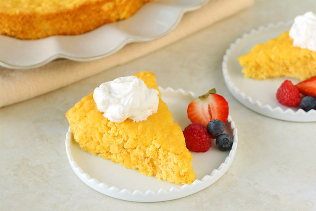 Hungry Girl's Low-Calorie Pineapple Bliss Cake Recipe