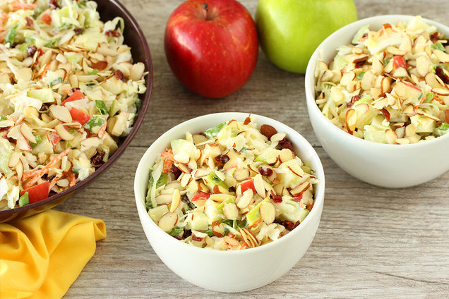 Hungry Girl's Healthy Cranberry Apple Coleslaw Recipe