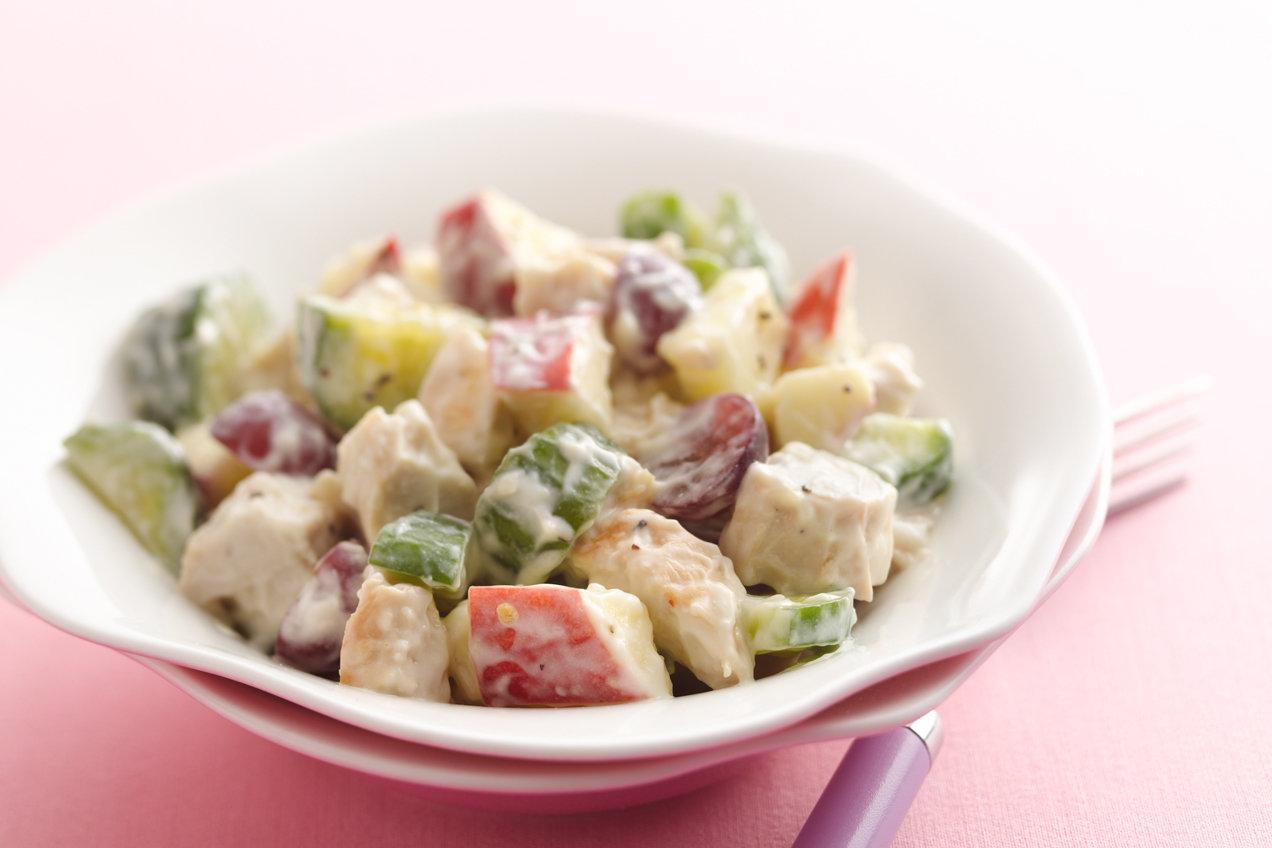 Waldorf Chicken Salad More Healthy Chicken Salad Recipes Hungry Girl
