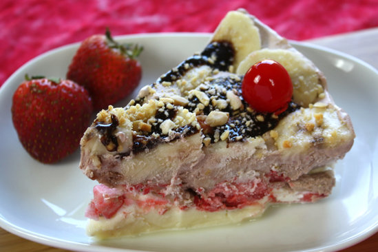 Hungry Girl's Healthy Banana Split Pie Recipe