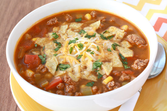 Hungry Girl's Healthy Mexican Taco Soup Recipe