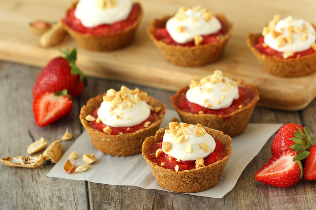 Mini Pb J Pies More Healthy Dessert Recipes Hungry Girl