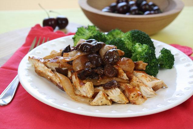 Hungry Girl's Healthy Cha-Cha-Cherry BBQ Chicken Pack Recipe