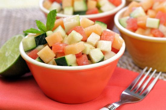 Hungry Girl's Healthy Sassy Melon Salad Recipe