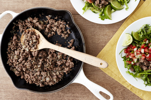 Hungry Girl's Healthy Super-Sized Ground Beef Recipe