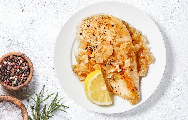 Hungry Girl's Healthy Garlic-Lemon Chicken Recipe