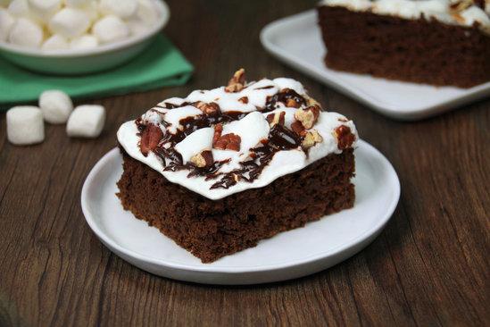 Hungry Girl's Healthy HG's Li'l Miss Mud Pie Brownies Recipe