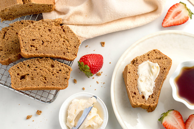 Hungry Girl's Healthy Make-Ahead Pancake Bread Recipe