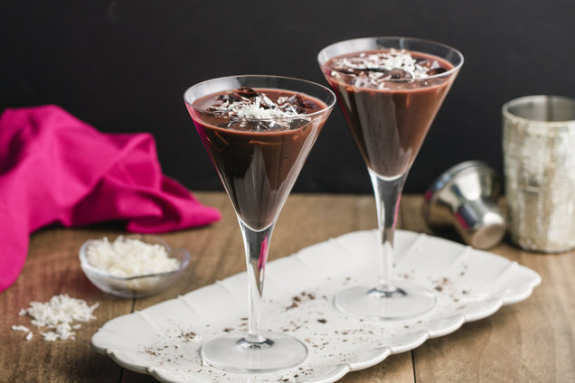 Chocolate Coconut Martinis