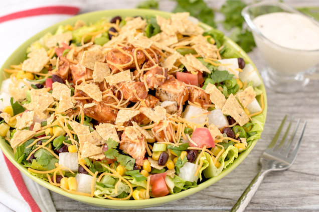 Top of the Chops BBQ Chicken Salad