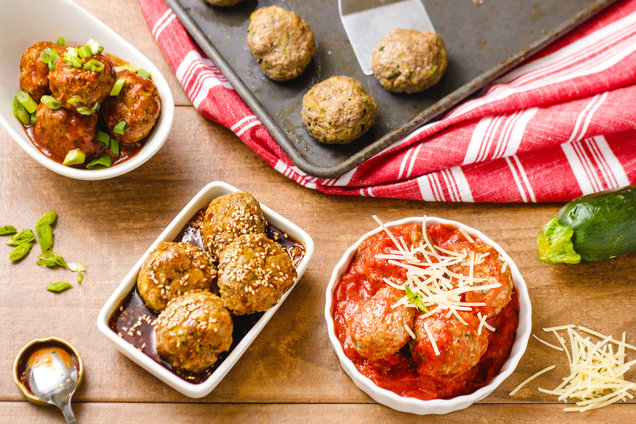 Hungry Girl's Healthy Zucchini Meatballs Recipe