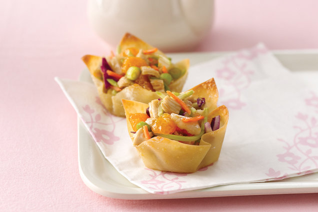 Hungry Girl's Healthy World's Cutest Chinese Chicken Salads Recipe