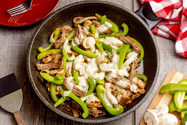 Hungry Girl's Healthy Philly Cheesesteak Stir-Fry Recipe
