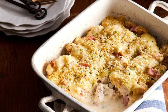 Hungry Girl's Healthy Chicken Cordon Bleu Casserole Recipe